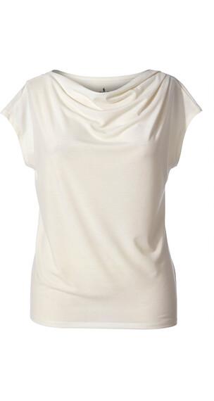 Royal Robbins Essential Tencel Cowl t-shirt Dames beige